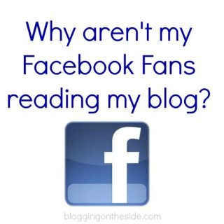 Why aren't my facebook fans reading my blog?