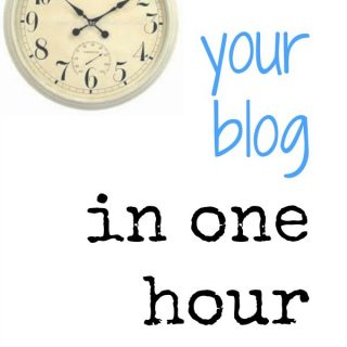 How to grow your blog in an hour a day!