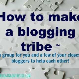 How to make a Facebook blogging tribe