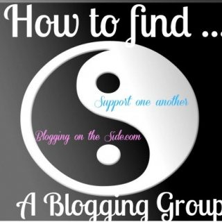 how to find a blogging group