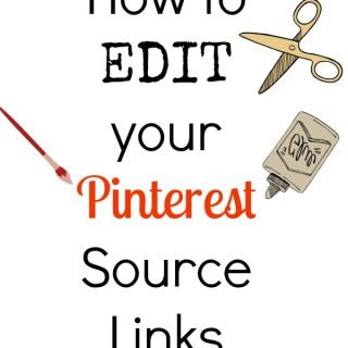 How to change a Pinterest source link