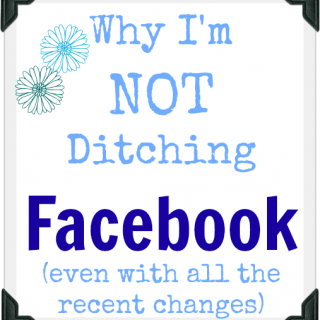 Why I'm not ditching Facebook - bloggers