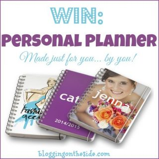 Organizing my blog posts – WIN a personal planner!!