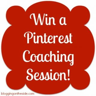 WIN a FREE Pinterest Coaching Session!