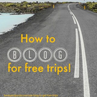 How to use your blog to barter for a free vacation