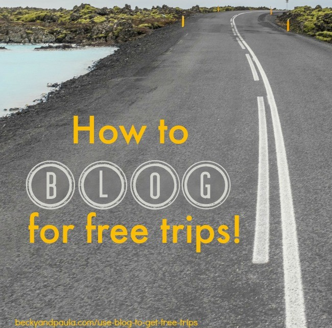 How to use your blog to barter for a free vacation – Becky
