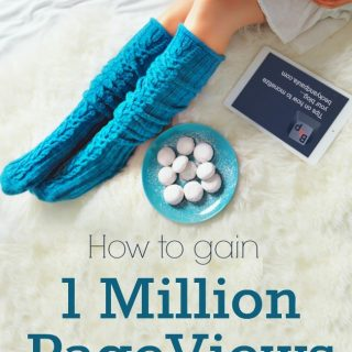 How to hit 1,000,000 visitors in a year of blogging