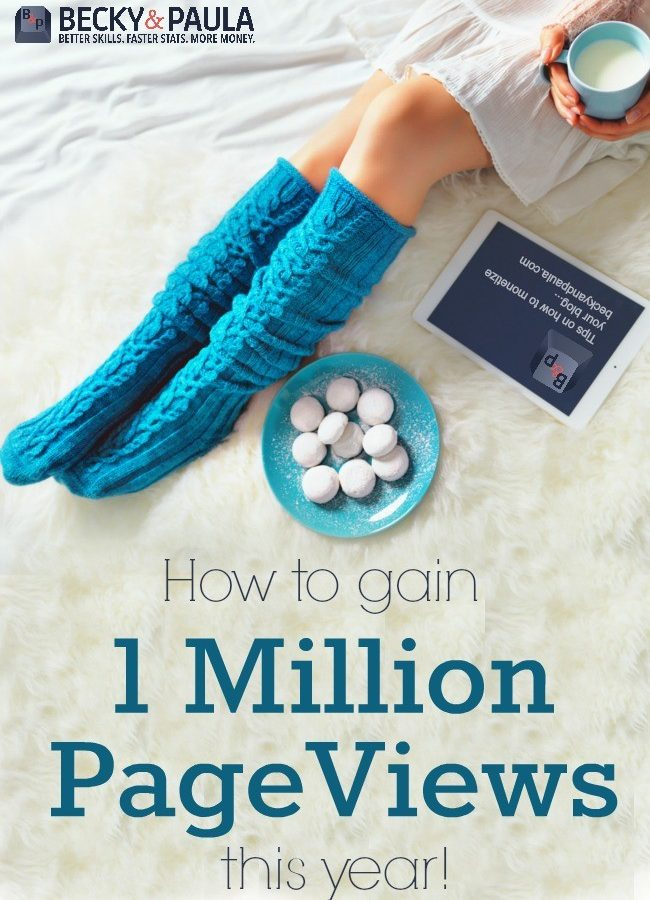 hit 1 million PV on your blog this year