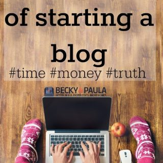 Getting real:  If you want to start a blog to make money