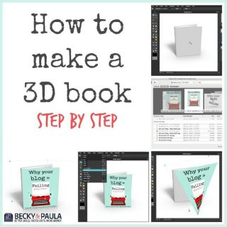 how to make a 3d book cover image free (Series: Best Blog Tools)