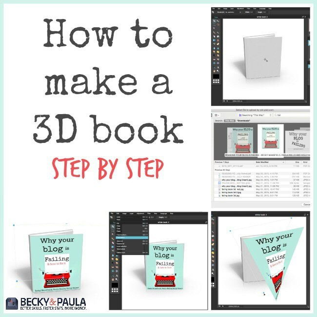 How To Make A Book Jacket On Computer ~ How to make a d book cover image free ger business