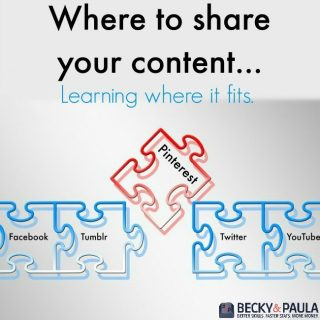 Where to share your content