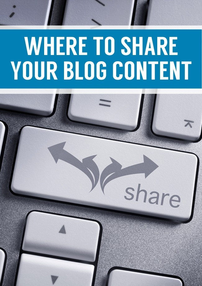 where to share content