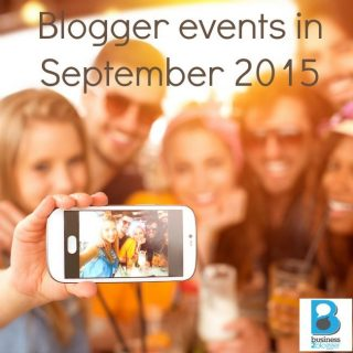 Blogger events in september 2015