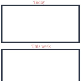 Free Blogging to-do printable