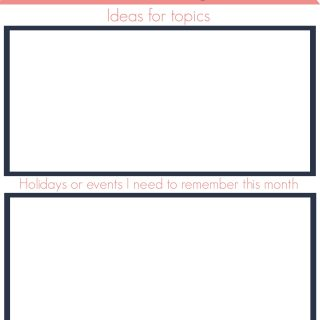 Free Blog Topics Organizer Printables (2)