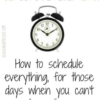 How to schedule social media posts all at once (don't spend all day online!)