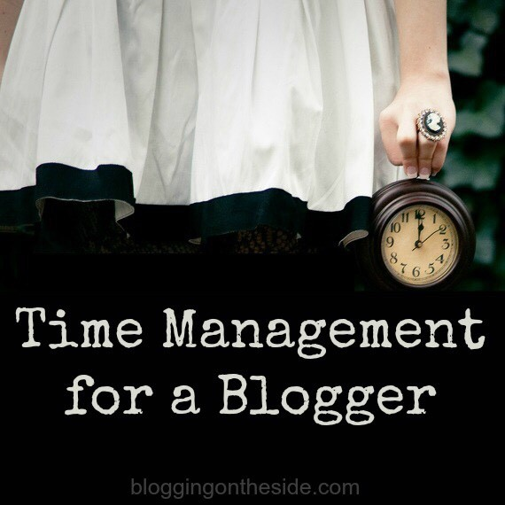 Time Management for a Blogger