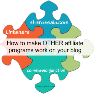 Make money with shareasale and other affiliate companies