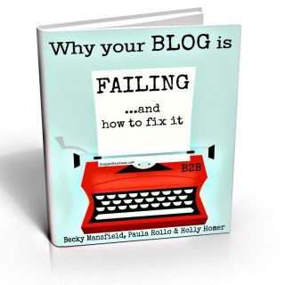 Why Your Blog is Failing … and how to fix it {ebook}
