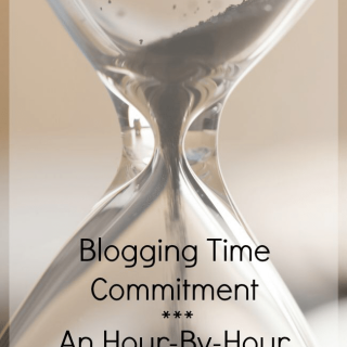 blogging time commitment