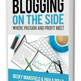 BLOGGING ON THE SIDE BOOK – AFFILIATE PROGRAM