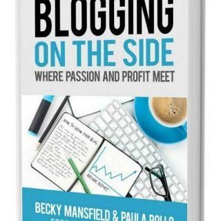BLOGGING ON THE SIDE BOOK – AFFILIATE PROGRAM