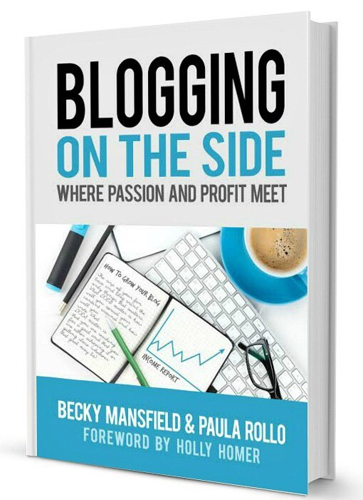 click here to buy BLOGGING ON THE SIDE