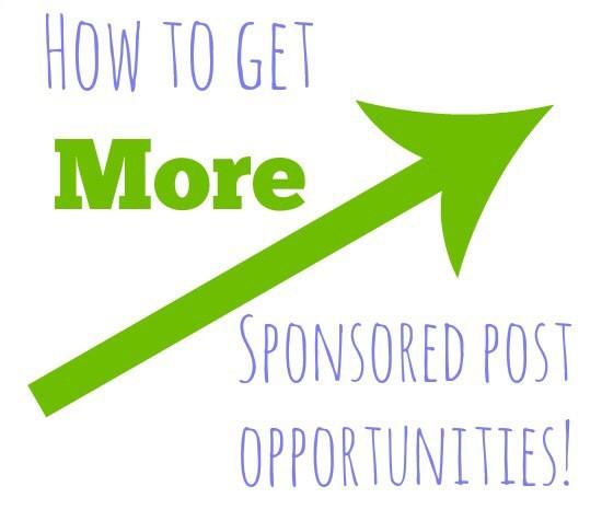 get more sponsored posts