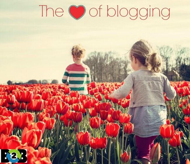 heart of blogging
