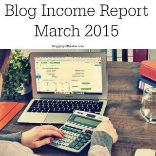Income Report – YMF March 2015
