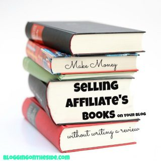 How to make money with affiliate book sales (without doing a review)
