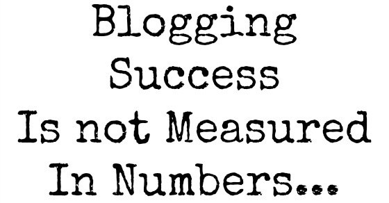 success is not numbers