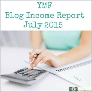 Blogger Income Report – July 2015