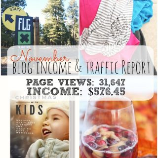 A Whimsicle Life blog income report