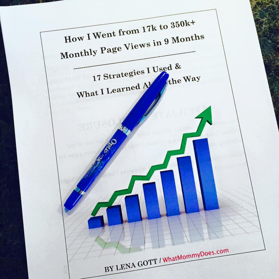 blogging traffic book