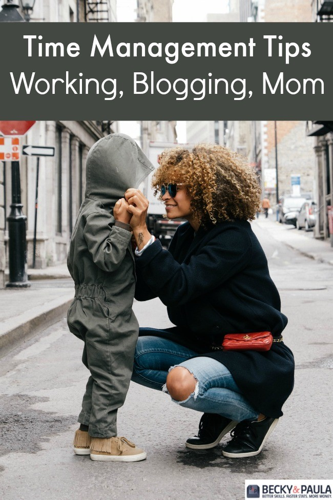 working blogging mom