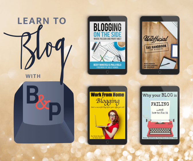 Learn to Blog with Becky & Paula
