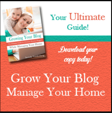 Grow your blog while you Manage your home - GREAT advice!!