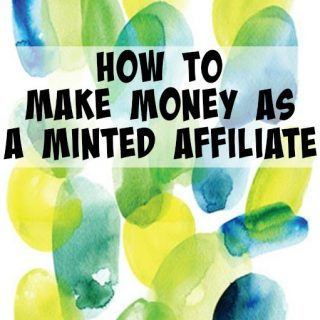 How to make money as an affiliate with minted