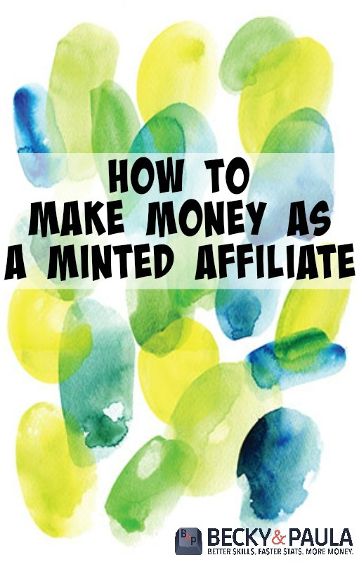 make money as a minted affiliate