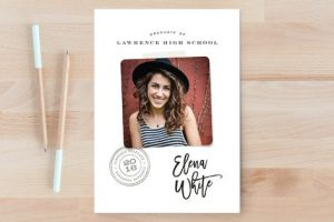 minted graduation cards