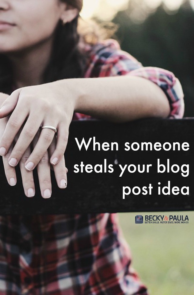 steals your blog