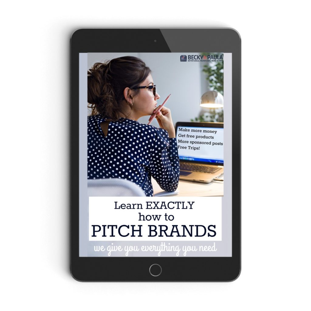 How to Pitch Brands eBook