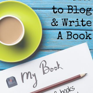 Finding Time to Write a Book While Blogging