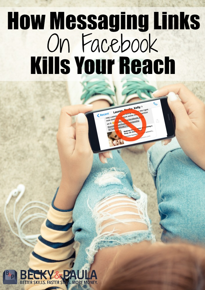 Why you should never message links to be shared via messenger! I had no clue!!!
