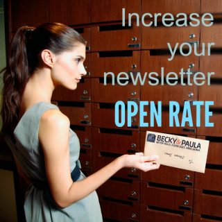 Increase your open rate  (practical tips)