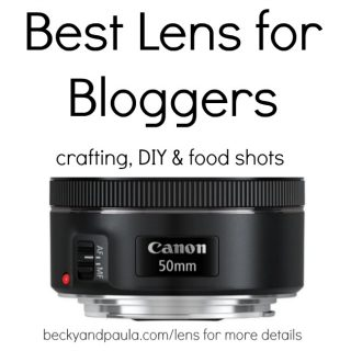 Best camera lens for blogging photography