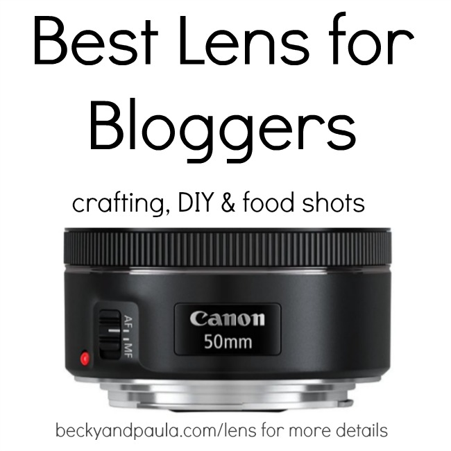 best camera lens for blogger
